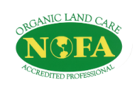nofa certified organic land care professional logo westchester ny fairfield ct